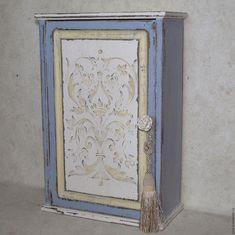 Купить CIEL France шкафчик - голубой, Шкафчик, винтажный стиль, мебель на заказ, мебель для дома