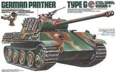 Tamiya - Panther Ausf. G, Sd.Kfz. 171 mit Stahlrollenlaufwerk