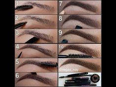 Ten steps to perfect eyebrows!