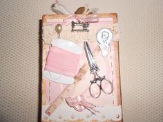 mini album hand made by Paola Botero