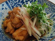 Boiled vinegar chicken : 鶏肉のお酢煮