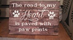 64 Ideas For Dogs Stuff Signs Dog Crafts, Pallet Crafts, Pallet Art, Pallet Signs, Animal Crafts, Rustic Signs, Wooden Signs, Rustic Decor, Dog Signs