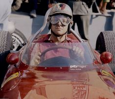 Taffy Von Trips just prior to his last race. Italian GP, Monza '61. Ferrari 156...