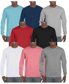ade6b07f Gildan Mens Hammer Plain Crew Neck T-Shirts 100% Cotton #fashion #clothes