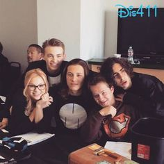 """Photo: Cast Of """"Kickin' It"""" Live Tweeting During Series Finale March 25, 2015 - Dis411"""