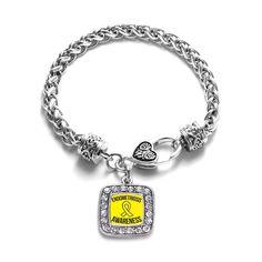 Endometriosis Support Classic Braided Bracelet