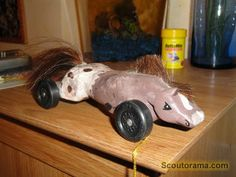 a more aerodynamic horse :)