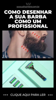 desenhar, barba, dr jones, the razoo Barba Grande, Mens Fashion, Fashion Tips, Hairstyle, Cook, Health, Recipes, Art, Beard Designs
