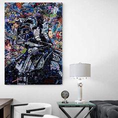 Tableau Star Wars Dark Vador Mosaic
