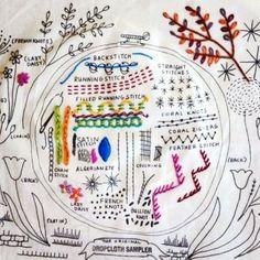 Playful Embroidery Sampler