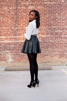 Get The Look Thursdays: Sassy Leather | Live, Love, & READ