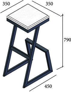 Welded Furniture, Iron Furniture, Steel Furniture, Industrial Furniture, Furniture Design, Modern Table Legs, Flat Interior Design, Chair Design Wooden, Side Table Decor