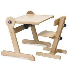 scaunel din lemn reglabil vector 4