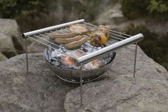 Perfect size to grill food for two people. Hello couples camping! #grilliput