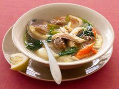 Суп жульен молочный с шампиньонами