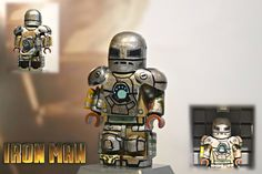 In honor of Iron Man 3 coming out later this week, we chose a LEGO Iron Man for the Custom Minifig of the Week!