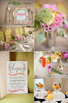 Bridal Shower - Ladies Who Lunch Theme - Wedding Ideas