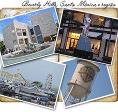 Visitando Los Angles, Hollywood e região.