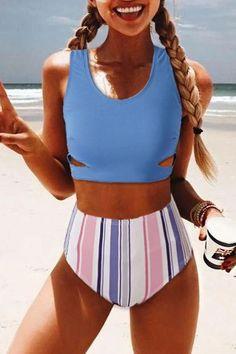 2020 Women Swimsuits Bikini Spandex Panties Tie Up One Piece Swimsuit Best Two Piece For Lap Swimming Cute Bathing Suits For Tweens Bathing Suits For Teens, Summer Bathing Suits, Swimsuits For Teens, Cute Bathing Suits, Women Swimsuits, Modest Swimsuits, Bathing Suit Top, Target Bathing Suits, Vintage Bathing Suits