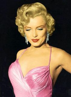 Pretty in pink...Marilyn Monroe