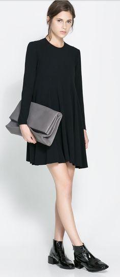 Zara dress. Looks like the one on Courtney Kerr show last night..