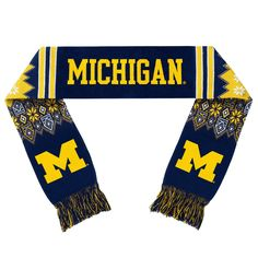 University of Michigan Wolverines Forever Collectibles Unisex Lodge Scarf