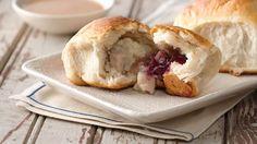 Turkey Dinner-Stuffed Biscuits Recipe - Pillsbury.com
