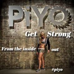 Get strong from the inside out.  #piyo http://www.chalenejohnson.com/piyo