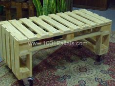 Very Simple Project: Pallet Bench Out Of 2 Pallets