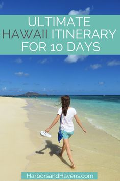 Discover the best beaches, waterfalls and hikes with this Hawaii itinerary for 10 days. From the best Hawaiian islands to visit to what to eat and where to stay, this Hawaii travel guide makes planning your aloha vacation a breeze. #HawaiiTravel #HawaiiVacation #HawaiianVacation | things to do in Hawaii travel | things to do on Oahu travel | things to do in Maui travel | where to go in Hawaii | Hawaii travel tips | Hawaii travel itinerary | Hawaii travel Oahu | Hawaii travel beach | Oahu…