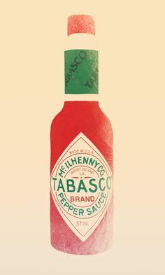 Tabasco Framed Art Print by Victor Vercesi   Society6