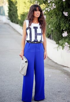 LOVE THESE PANTS!! 15 Trendy Street Style Outfits With Palazzo Pants