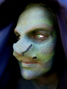 THIS LOOK WAS CREATED USING SPECIAL EFFECTS MAKE-UP
