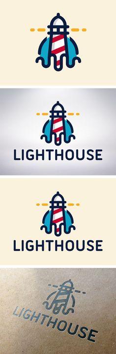 Lighthouse // branding / logo // nautical