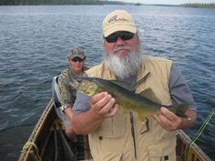 Esnagami Wilderness Lodge walleye, Orvis Clearwater 9wt