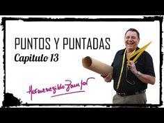 Puntos y Puntadas - Capitulo 13 - Repaso cuello de camisa y detalles - YouTube
