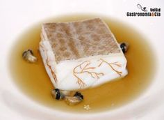 Tapas, Chefs, Food Decoration, Sous Vide, Food Art, Cod, Seafood, Pudding, Ethnic Recipes