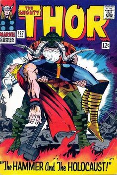 Thor #127 Jack Kirby Cover