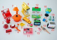 colorful minis -- rement, megahouse, galoob