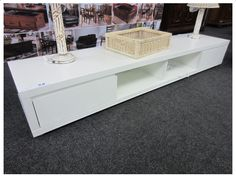 METRO MODERN WHITE EXTRA WIDE TV STAND (200CM) Decor, Furniture, Tv Stand 200cm, Home, Modern, Coffee Table, Tv Stand, Home Decor, Furniture Auctions