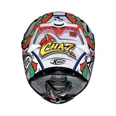 Get your #X-803 #replica #chaz #davies #italy #helmet on www.helmade.com