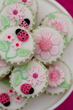 Spring Flower Cookies ❀ ❀