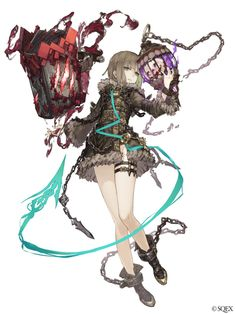 View an image titled 'Gretel, Gluttonous Tiger Sorcerer Job Art' in our SINoALICE art gallery featuring official character designs, concept art, and promo pictures. Female Character Design, Character Design References, Character Concept, Character Art, Fantasy Characters, Female Characters, Anime Characters, Anime Fantasy, Final Fantasy