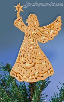 Free Scroll Saw Patterns :: Merry Christmas bell ...