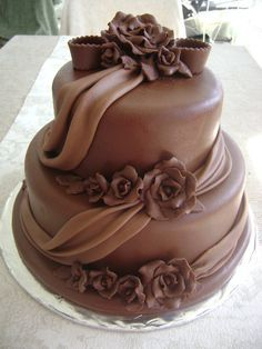Gorgeous Cakes, Pretty Cakes, Cute Cakes, Fancy Cakes, Cake Icing, Fondant Cakes, Cupcake Cakes, Chocolate Delight, Chocolate Cake