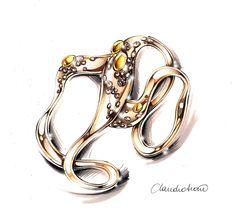 Claudio Siano_Jewelry_Design_Sketching