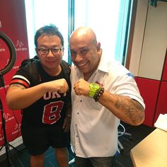 Fist bumping with my Bro JK at Power98FM!! #sgcarshoots #sgexotics #speed  #sgcaraddicts #sportcars #sgcars #revvmotoring #monsterenergysg #nurburgring #cars #carinstagram #hypercars #monsterenergy #carswithoutlimits  #follow4cars #motorsports #gopro  #singapore #racetrack #supercarlifestyle #speedy #motoring #fastcars #carporn #fashion #luxurylifestyle #power98