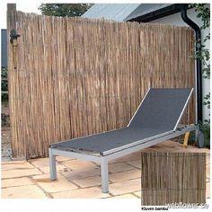 Vindskydd av rund bambu 180cm - Bambu - webflower.se