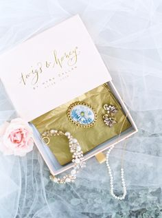 Beautiful pendent, earrings, pearl necklace, and diamond head band wedding accessories: http://www.stylemepretty.com/texas-weddings/dripping-springs/2016/08/16/romantic-texas-wedding-under-the-oaks/ Photography: Loft - http://www.loftphotography.com/