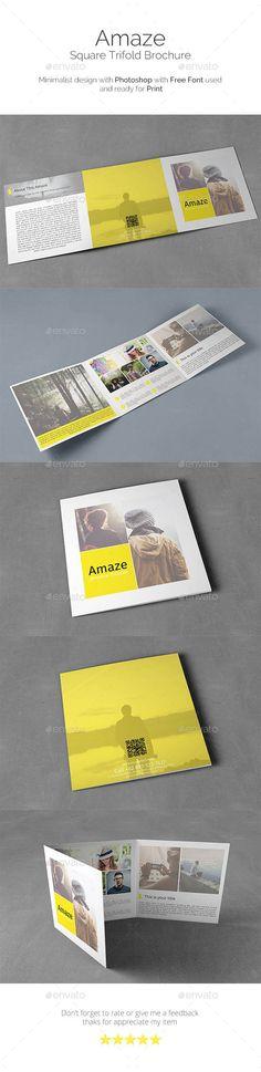 15 Best Mini brochure images Brochure ideas, Brochures, Fonts